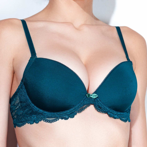 sutien push up verde