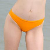 slip clasic baie portocaliu