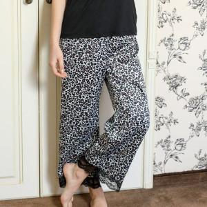 pantaloni pijama saten